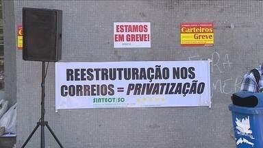 Trabalhadores dos Correios entram em greve em SC nesta quinta-feira (15) - Trabalhadores dos Correios entram em greve em SC nesta quinta-feira (15)