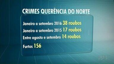 Onda de roubos assusta moradores de Querência do Norte - Neste ano já foram registrados 38 roubos na cidade.