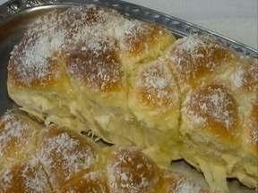 Pão doce em formato de trança é destaque do 'Receita de Família' - Receita leva leite condensado e pode ser opção para café da tarde.