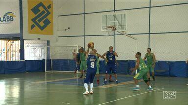 ETF vence na Copa de basquete master - ETF vence a equipe da AABB na disputa