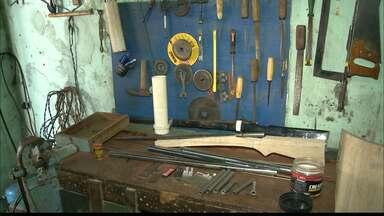 JPB2JP: Fábrica caseira de armas de fogo é descoberta em Solânea - 4 pessoas foram presas.