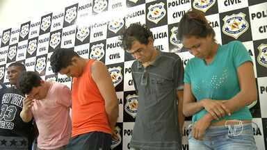 Quadrilha de assaltantes é presa por roubos a casas e empresa de ônibus em Santarém - Na ação, foram encontrados drogas, dinheiro e outros objetos das vítimas.