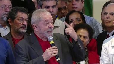 Lula reage à denúncia do MP por conta do tríplex do Guarujá - Acusação é de corrupção e lavagem de dinheiro. MP diz que ele teria recebido propina de R$ 3,7 milhões.