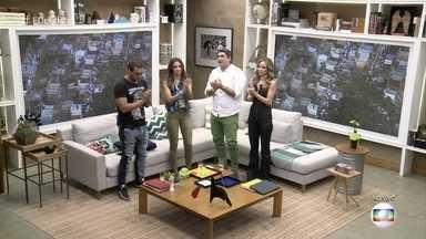 Apresentadores aplaudem Domingos Montagner - Confira a homenagem do 'É de Casa' ao ator