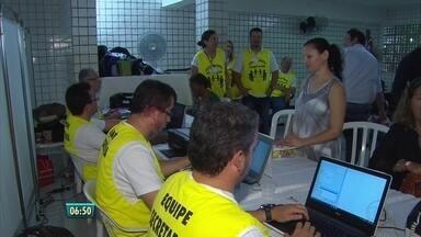 Integrantes de paróquia no Recife promovem ação solidária - Dia de serviços gratuitos foi realizado na Comunidade Santa Luzia.