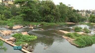 Municípios iniciam racionamento de água no Sul do ES - Distribuição em Cachoeiro de Itapemirim continua normal.