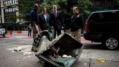 Estados Unidos reforçam segurança após explosão em Nova York - E a preocupação aumentou nesta madrugada depois que a polícia encontrou uma mochila com explosivos perto de uma estação de trem no estado de Nova Jersey, perto de Nova York. As bombas foram desativadas com a ajuda de agentes do FBI e de um robô. Ninguém ficou ferido. Os investigadores ainda não sabem se o objetivo era fazer mais vítimas ou apenas desviar a atenção da polícia.