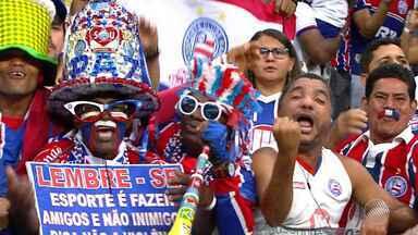 Bahia faz 4 x 2 no Goiás e volta ao G4 da série B - Confira as notícias do tricolor baiano.