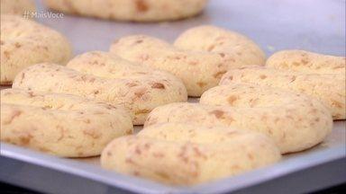 Chipa - Biscoito é crocante por fora e macio por dentro! Aprenda a receita