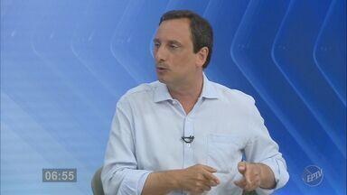 Jornal da EPTV entrevista o candidato a prefeito de Campinas Artur Orsi (PSD) - Rodada de conversas com os candidatos à Prefeitura de Campinas vai até sexta-feira (23).