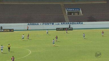 Ferroviária vence o São Carlos pela Copa Paulista - Os dois times já estão classificados e a Ferroviária terminou com a melhor campanha de toda a primeira fase.