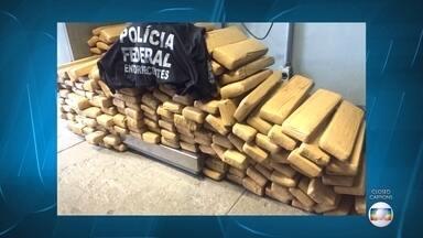 Polícia Federal prende 6 pessoas com 200 quilos de maconha na BR-262, em Juatuba - Segundo a Polícia Federal, a quadrilha agia nas cidades de Betim e Contagem.