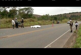 Motociclista morre após passar mal na BR-259, em Governador Valadares - Vítima já havia reclamado de dor no peito; consulta estava marcada.
