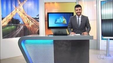 Confira os destaques do JA 2ª edição desta quarta-feira (21) - Queimada destrói área de pasto às margens da GO-462, em Goiânia.