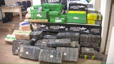 Mais uma tonelada de maconha é apreendida no noroeste do estado - Uma tonelada e meia da droga já havia sido retirada de circulação no final de semana passado.