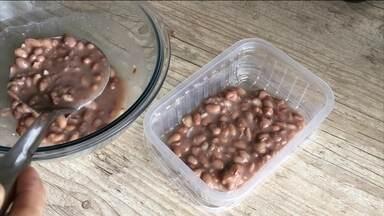 Congelar alimentos na porção correta pode evitar desperdício - A dica da nutricionista Cristina Menna Barreto é congelar os alimentos na quantidade que vamos comer.