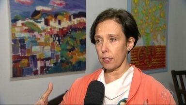 Carmen Migueles (NOVO) fez campanha no Centro - Carmen Migueles (NOVO) fez campanha no Centro
