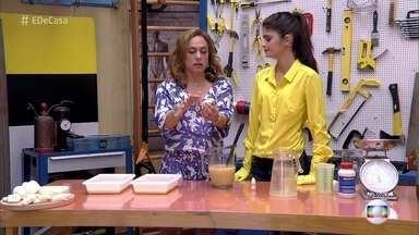 Professora de química ensina a fazer sabão ecológico - Jéssica mostra como fazer um sabão que tem uma ação de limpeza maior do que os encontrados no mercado e utiliza produtos recicláveis