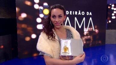 Caldeirão da Fama apresenta uma nova Top Model - Rafaela Bezerra se surpreende com assédio de fãs e participação no Caldeirão do Huck
