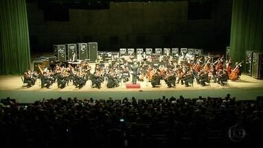 Orquestra mexicana se apresenta no Recife - Músicos de Xalapa fizeram apresentação no Teatro Guararapes