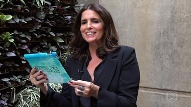 """Malu Mader relembra entrevista ao """"Estrelas"""" - A atriz se surpreendeu com a escolha do local onde foi feita a entrevista"""