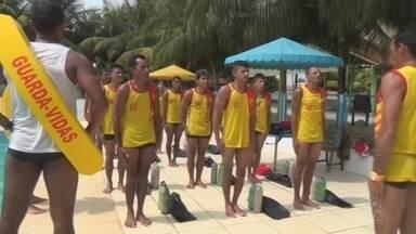 Corpo de Bombeiros realiza curso para formação de salva-vdas, em Itacoatiara - Cidade fica a 176 quilômetros de Manaus.