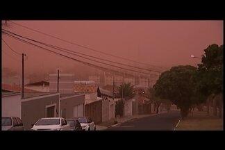 Umidade relativa do ar preocupa agricultores e pecuaristas do Triângulo Mineiro - Termômetros marcaram 11% na última semana.