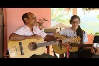 Projeto busca resgatar cultura do campo por meio da viola caipira em Divinópolis - Crianças aprendem a tocar o instrumento em uma comunidade rural do município.
