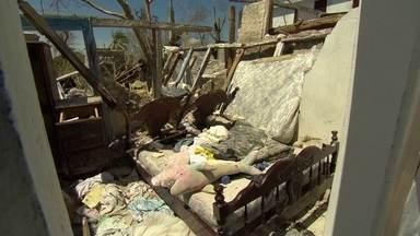 Fantástico vai à região mais destruída no Haiti pelo furacão Matthew - Ventos de mais 240 quilômetros por hora atingiram litoral sul do Haiti. Região de Port Salud foi uma das áreas mais devastadas pela força da natureza.
