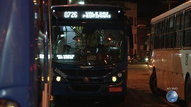 Ônibus voltam a circular no Vale das Pedrinhas - Rodoviários pararam de entrar no bairro na sexta (7), após um tiroteio entre policiais e suspeitos de tráfico.