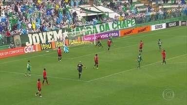 Chapecoense derrota o Sport na despedida de Oswaldo de Oliveira do time pernambucano - Treinador vai dirigir o Corinthians.