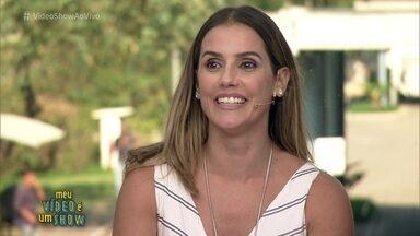 Deborah Secco revisita carreira no 'Meu Vídeo É Um Show' - Atriz estreou em 1990 na novela 'Mico Preto' e relembra seus trabalhos na TV Globo ao longo dos 27 anos de carreira