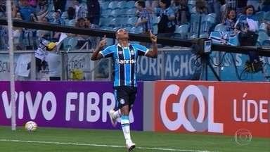 Confira giro de gols da 30ª rodada do Brasileirão - Grêmio vence e se aproxima do G6 e Santos afunda ainda mais o São Paulo.