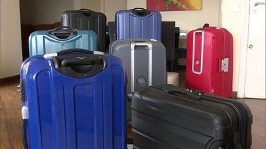 Empresário de SP cria sistema de aluguel de mala - Para quem não gosta de guardar mala no apartamento, basta entrar no site e alugar uma mala pelo período da viagem.