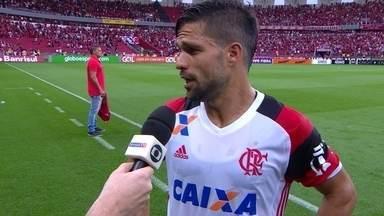 """Diego após a derrota para o Internacional: """"Extremamente decepcionados"""" - Diego após a derrota para o Internacional: """"Extremamente decepcionados"""""""
