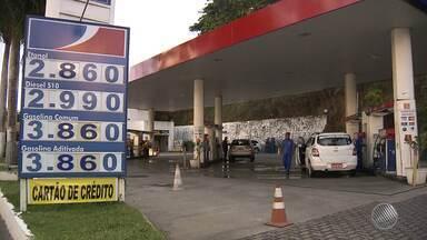 Preço da gasolina continua sem redução nos postos de Salvador - O governo anunciou há 4 dias que iria baixar o preço do combustível.