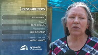 Moradores de Foz procuram por pessoas desaparecidas - Eles procuram por: Arlindo Ribeiro e Deonildes Daltoe