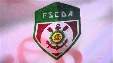 Flamengo de Arcoverde, de Pernambuco, tem escudo inspirado no do Corinthians - Flamengo de Arcoverde, de Pernambuco, tem escudo inspirado no do Corinthians