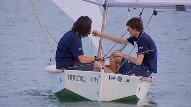 Conheça dois jovens velejadores que treinam no Lago Paranoá e já são campeões mundiais - Conheça dois jovens velejadores que treinam no Lago Paranoá e já são campeões mundiais