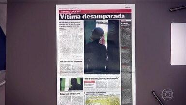 Mulher é vítima de estupro coletivo em São Gonçalo (RJ) - Ela contou à polícia que sofria abusos há quatro anos. Os criminosos são traficantes da comunidade onde ela morava.