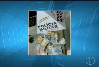 Após denúncia, dois jovens são detidos com drogas em Unaí - Foram apreendidas pedras de crack e maconha.