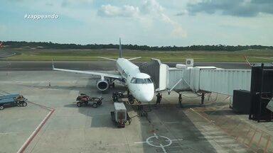 Parte 1: Acompanhe a equipe do 'Zappeando' em uma viagem com destino a Tabatinga - Equipe mostra os bastidores do voo.