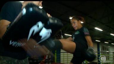 Piauiense disputa competição internacional de kickboxing no México - Piauiense disputa competição internacional de kickboxing no México