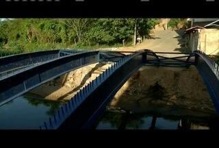 Calendário: Equipe mostra situação de ponte em Fabriciano - Local fica no Bairro JK; esta é a quinta vez que o MGTV vai ao local.