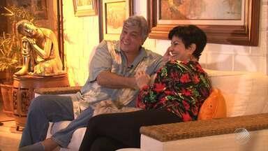 Sidney Magal bate um papo exclusivo com Kátia Guzzo - Artista abriu as portas de casa para a equipe da Tv Bahia.