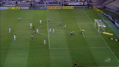 Ceará bate o Bragantino por 2 a 0 no Catelão - Alvinegro sonha ainda com a elite do futebol brasileiro.