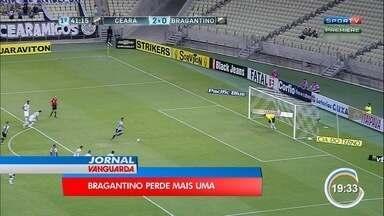 Bragantino perde fora de casa e segue na zona de rebaixamento - Time perdeu para o Ceará pela série B do Campeonato Brasileiro.