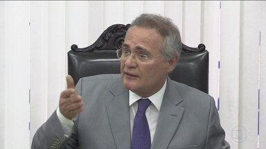 Renan Calheiros reage à ação da PF contra Polícia Legislativa e recorre ao STF - O presidente do Senado chamou de fascista a atuação da Polícia Federal na operação que prendeu quatro agentes da polícia legislativa.