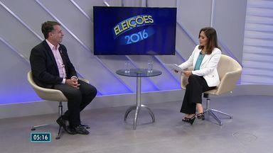 Luciano Rezende (PPS) é entrevistado no ESTV 2ª edição - O candidato falou sobre mobilidade urbana, acessibilidade e segurança.