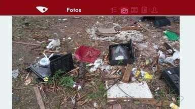 Moradores verificam pontos de lixo viciados na Grande Vitória - Em cariacica, a prefeitura contou 300 pontos viciados de lixo. Pontos que mesmo limpando voltam a ficar cheios de lixo em seguida.